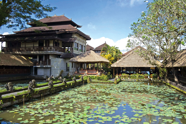 Das Café Lotus in Ubud.