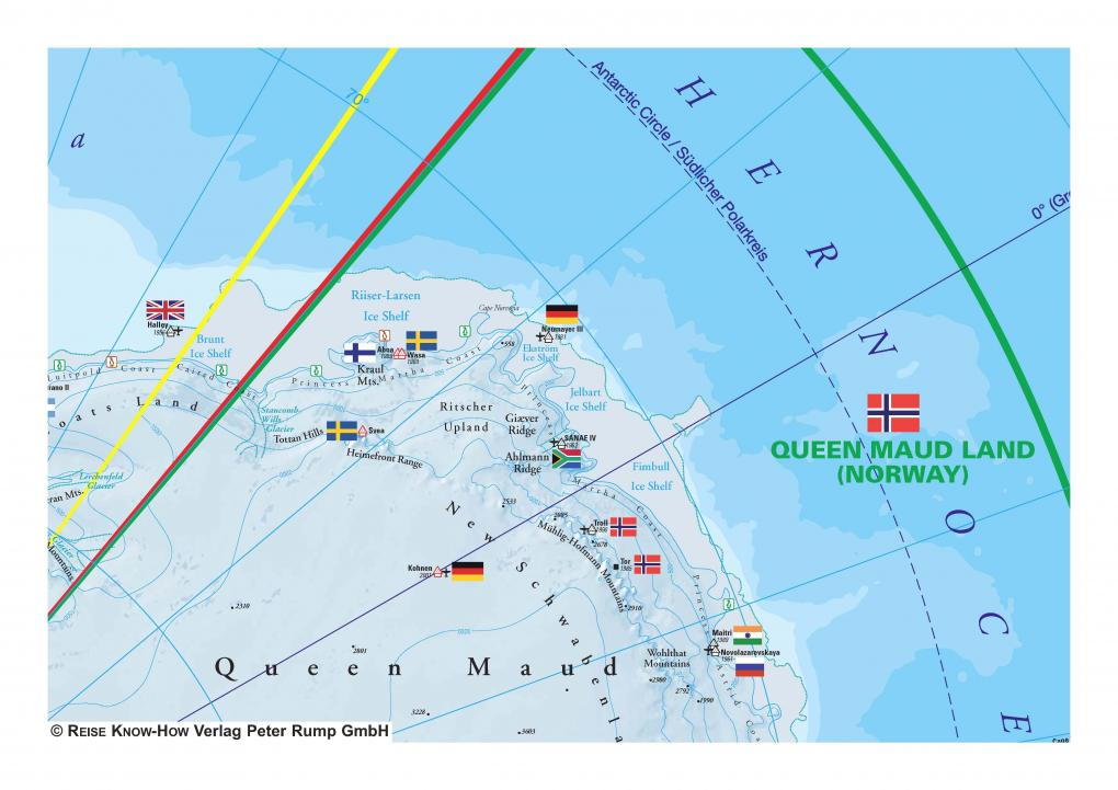 Antarctic (1:8.000.000) | Reise Know-How Verlag