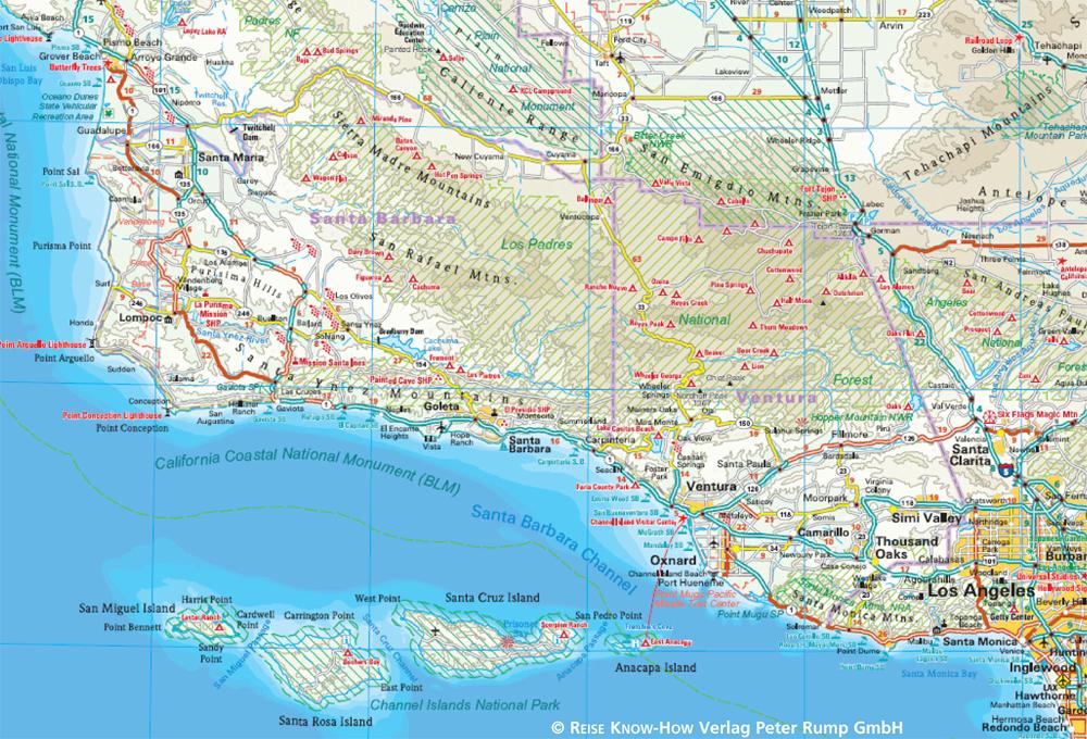 Usa 06 Kalifornien 1 850 000 Reise Know How Verlag