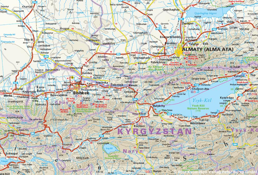 reise know how landkarte zentralasien 1 1 700 000 usbekistan kirgisistan turkmenistan und tadschikistan world mapping project