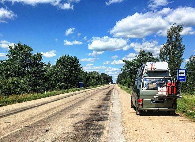 Die letzten EU-Meter vor der russischen Grenze.