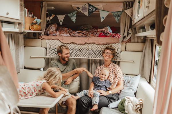 Ein Jahr mit dem Wohmobil unterwegs: Nila, Johann, Nino und Rosa Koppelmann
