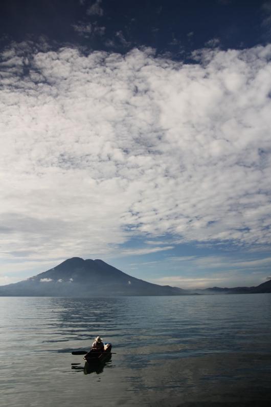 Atitlan See in Guatemala
