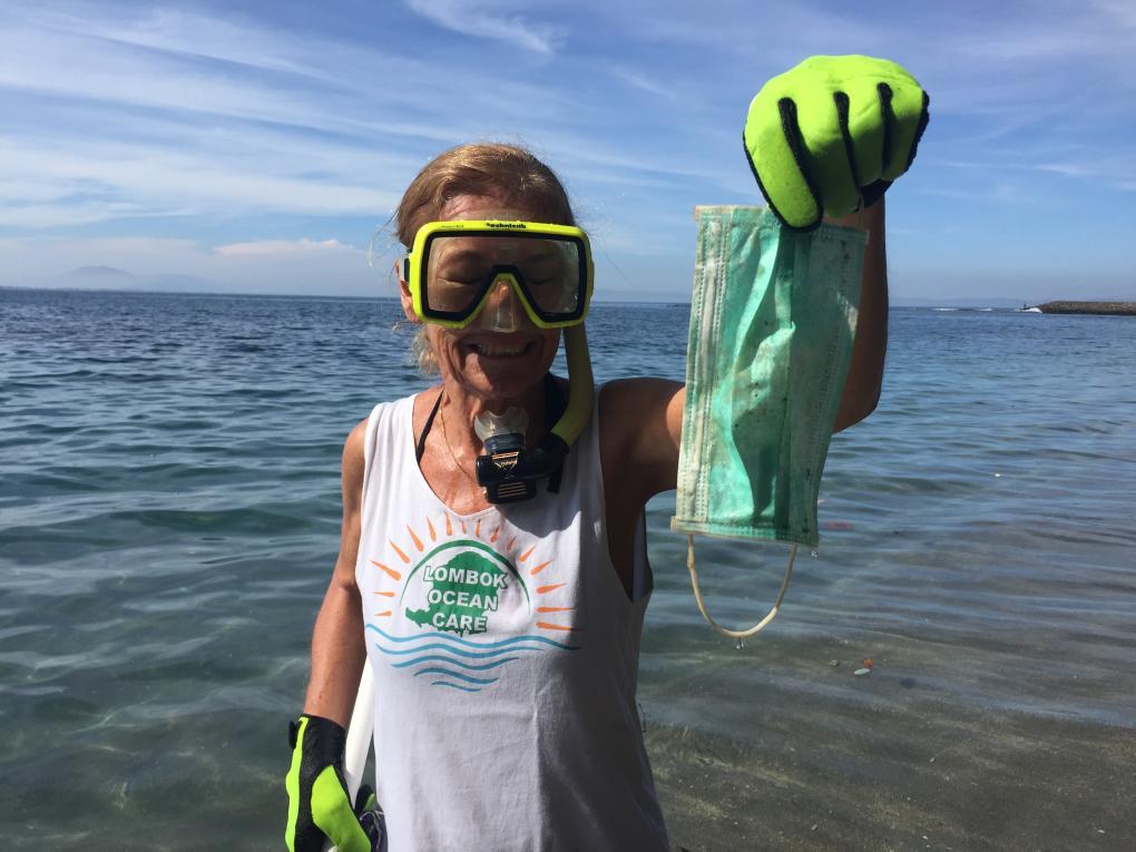 Diese Atemschutzmasken werden wir zukünftig in Massen im Meer und am Strand finden