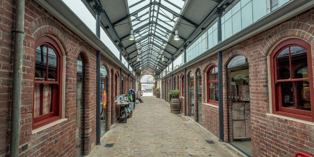 Shopping Center Liberty Wharf in St. Helier