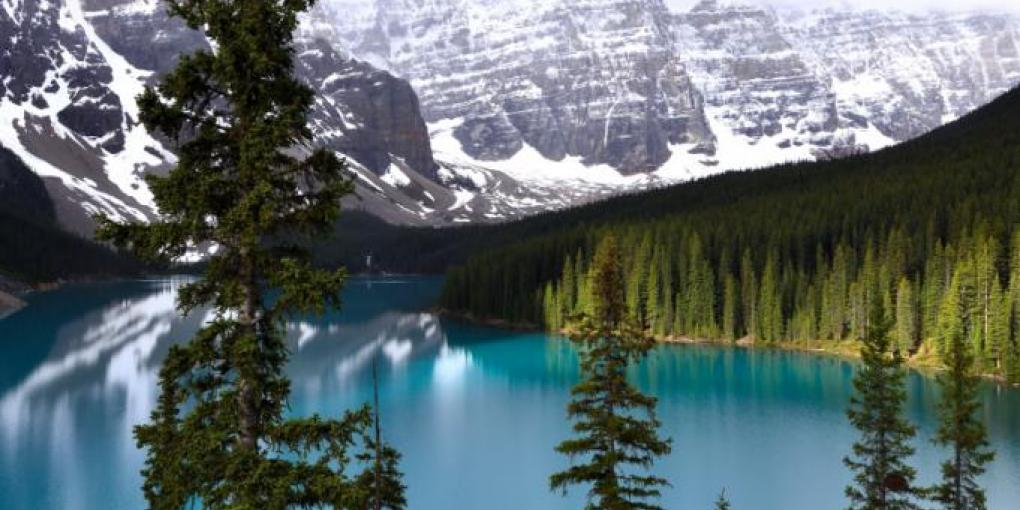 Moraine Lake,Kanada