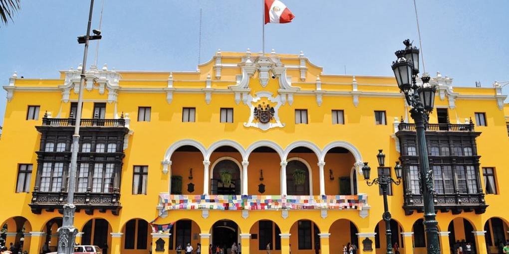Rathaus in Lima
