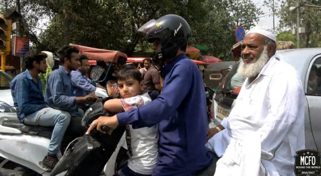 Indien - Verkehrschaos